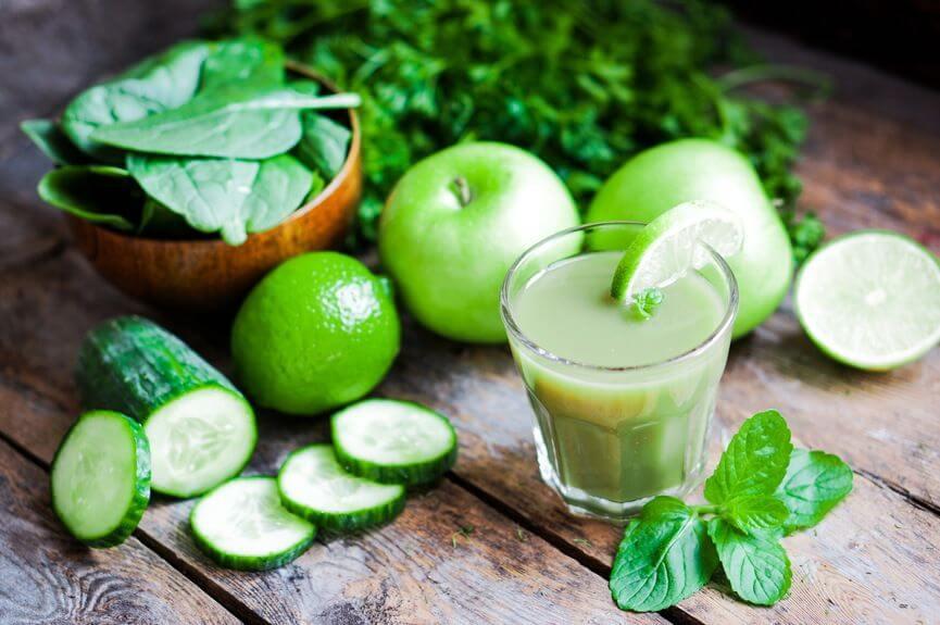 πράσινο-smoothie