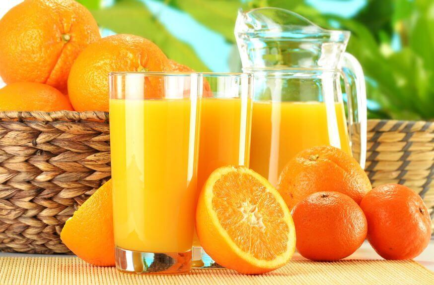 χυμός-εσπεριδοειδών-πορτοκάλι-τζίντζερ-μέλι