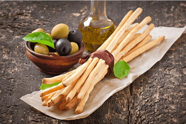 κριτσίνια-λαχανικών συνταγή με λίγες θερμίδες Αρχοντούλα Μπακιρτζή